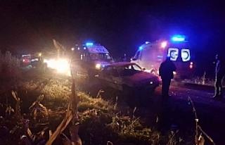 Suruç'ta trafik kazası meydana geldi…