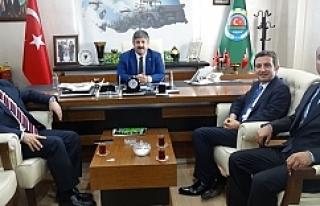 TARSİM Genel Müdürü Urfa'da...