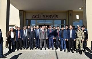 Tuna'dan Viranşehir'e ziyaret. ..