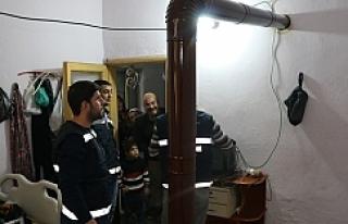 Urfa'da 'sıcak yuvam' projesi..