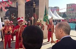 Erdoğan'a, mehter sürprizi