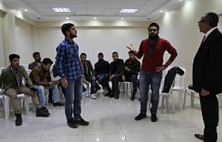 Haliliye Belediyesi, yeni sanatçılar yetiştiriyor
