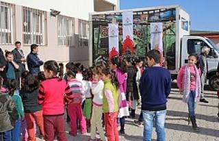 Karaköprü'de çocukların 12D keyfi
