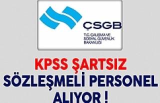 KPSS ŞARTI YOK...
