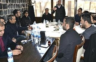 Başkan Yılmaz öğretmenlerle bir araya geldi