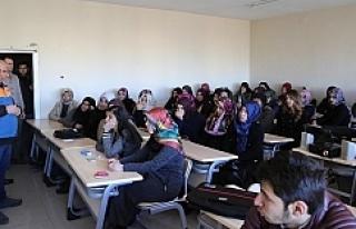Haliliye'de öğrencilere afet eğitimi