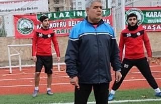 Karaköprü Belediyespor kader maçına çıkacak