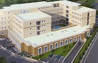 Siverek'e modern adliye binası