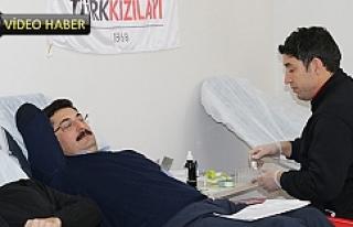 ŞUSKİ'den kan bağışına destek