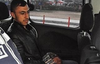 Urfa'da 'etekli' hırsız tutuklandı