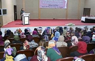 Urfa'da 'ailenin gizli kahramanı' semineri