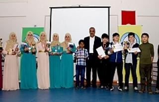 8. Uluslararası Arapça Yarışmaları Hilvan'da...