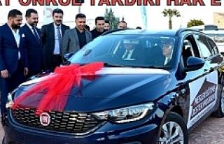Fiat Önkol Harran Üniversitesi'ne araç hibe...