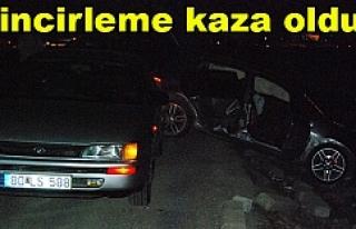 Karaköprü'de 5 araç birbirine girdi
