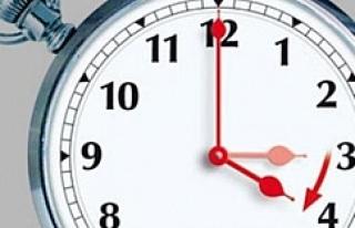 Saatler yine karıştı..