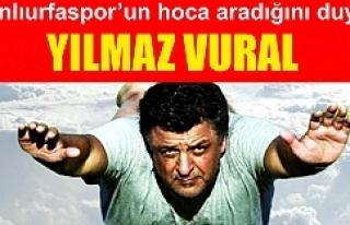 Şanlıurfaspor'da Yılmaz Vural bombası