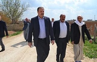 Vekil Özcan, 1 günde 15 köy gezdi