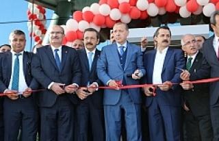 Cumhurbaşkanı, Urfa'da O binayı açtı
