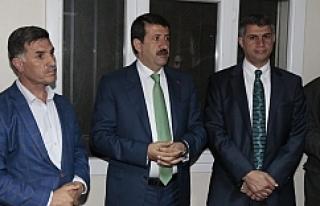 Ekinci, AK Parti'ye bir katılım daha sağladı