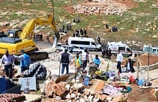 Eyyübiye'de yıkım gerginliği