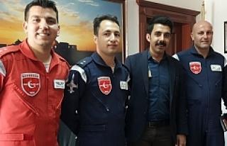 Türk Yıldızları Urfa'da...