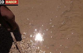 Urfa'da kirli suyla imtihan...