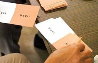 Urfa'da seçim bu saatler arasında yapılacak
