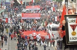 Urfa'da 11 Nisan coşkusu