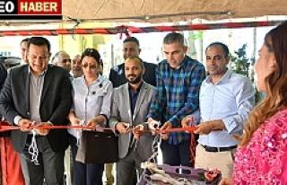 Ceylanpınar'da Destek Merkezi Sergisi Açıldı