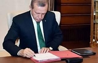 Erdoğan o isimleri atadı