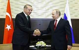 Flaş! Erdoğan Rusya'da gerekeni yaptı