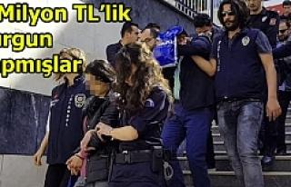 Polis o çeteyi çökertti