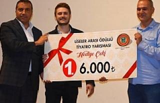 Siverek'te ödül aldılar