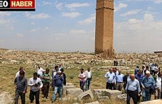 Urfa'daki gezileri tamamlandı