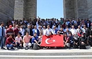 Urfa heyeti Çanakkale'yi gezdi