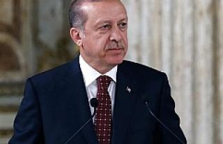 Erdoğan düşen helikopterle ilgili bilgi aldı