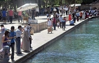 Şanlıurfa'da Sıcak Hava Etkili Oluyor