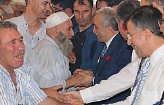 Bakan Fakıbaba tebrikleri kabul etti.