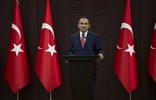 Hükümet sözcüsü Bozdağ'dan flaş açıklama