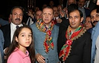 Türkmenler Birliği Erdoğan'la görüştü