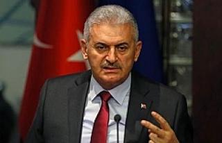 Yıldırım Suriyeliler konusunda net konuştu