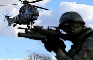 34 terörist etkisiz hale getirildi