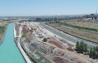 Bölgenin en büyük yeşil alan projesi