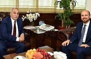 Erdoğan'dan Fakıbaba'ya tebrik ziyareti