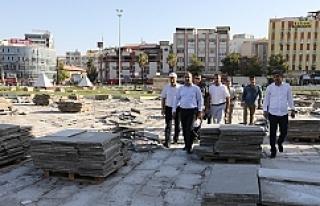 Rabia meydanı yeniden düzenleniyor