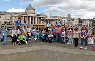 TED Şanlıurfa öğrencileri İngiltere yaz okulunu...