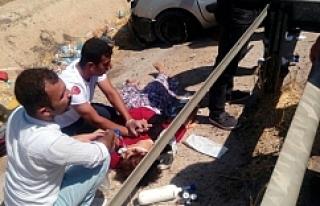 Urfa'da feci kaza ölü ve yaralılar var..