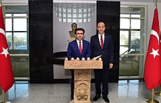 Urfalı Diyarbakır Valisi Urfa'da