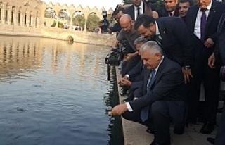 Başbakan Balıklıgöle hayran kaldı