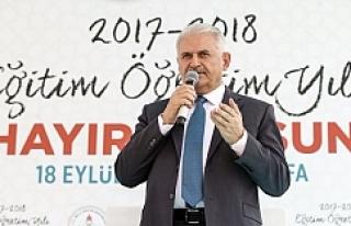 Başbakan Yıldırım Urfa'da önemli açıklamalarda...
